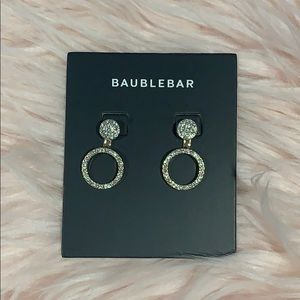 NWT : Baublebar Front/Back Earrings